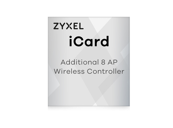 Perspective Zyxel iCard pour USG, UAG, ZyWALL + 8 Access Points
