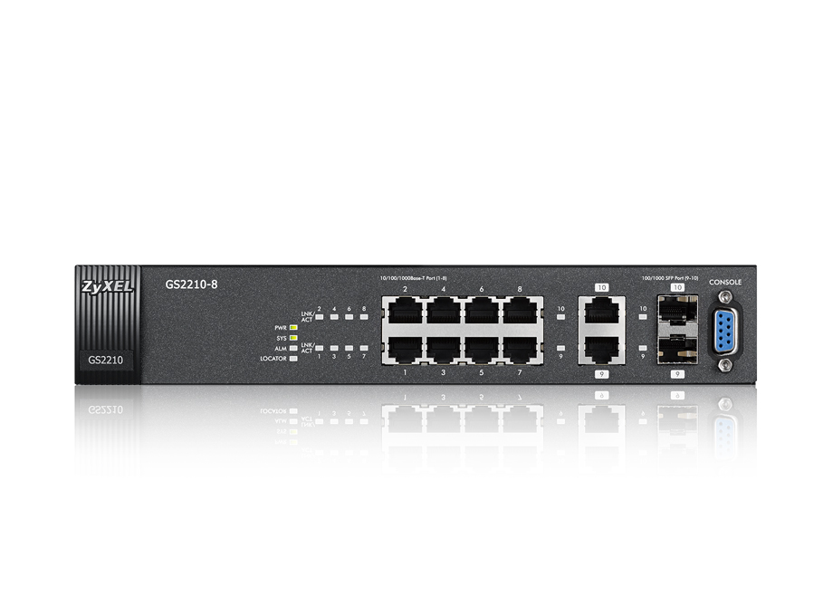 Zyxel Gs2210 8 Zyxel Your Networking Ally