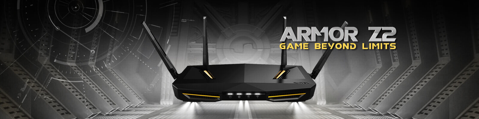 ARMOR Z2 AC2600 MU-MIMO Dual-Band Wireless Gigabit Router